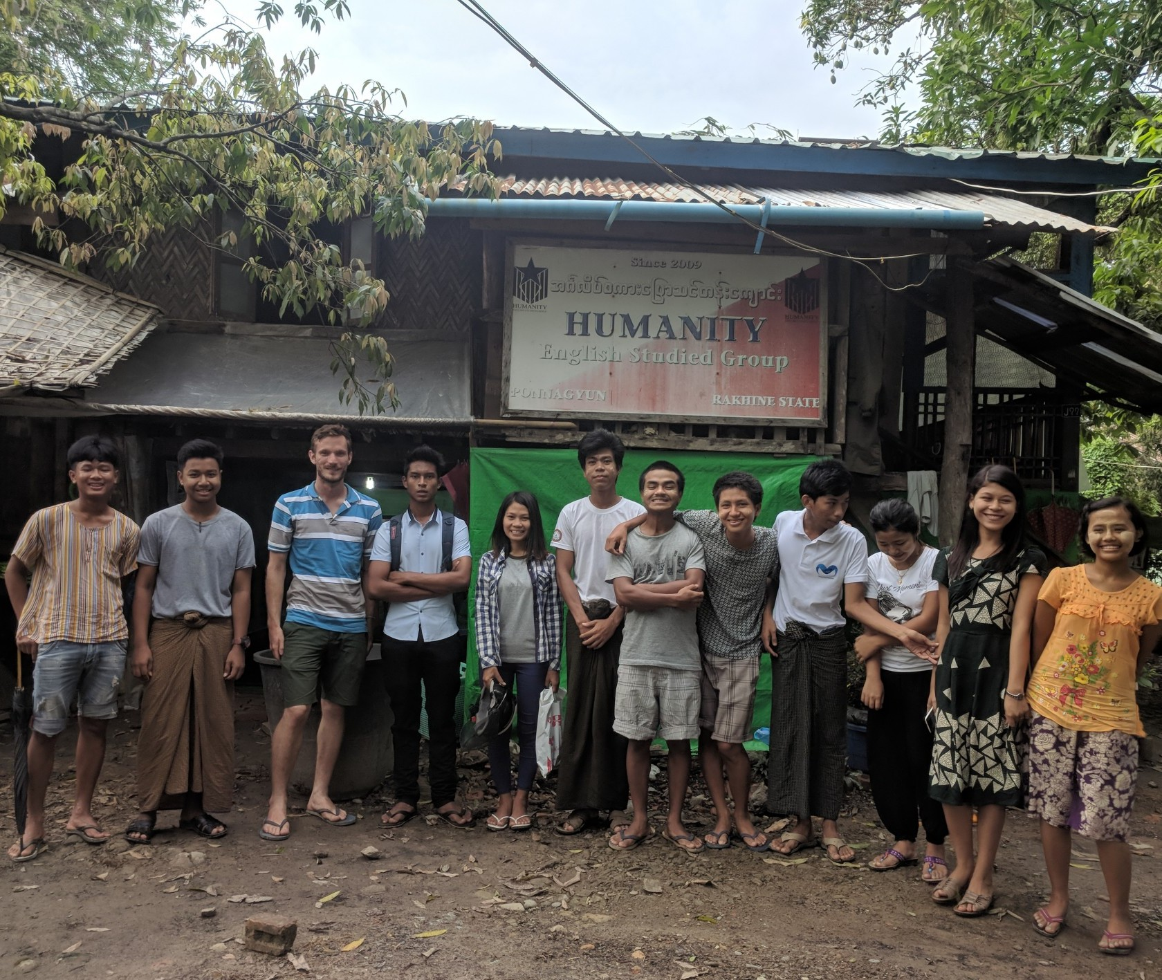 Graduate student Ben Steiner conducting fieldwork in Myanmar for his AC4 Graduate Fellowship
