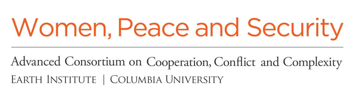 Women, Peace, and Security Program at AC4 Logo