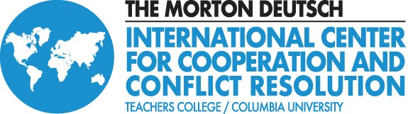 Logo for the Morton Deutsch International Center for Cooperation and Conflict Resolution at Teachers College